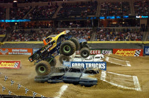 moster truck rally